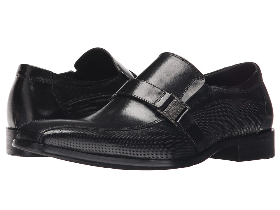 Kenneth Cole Reaction - Big News (Black) Men's Slip on Shoes