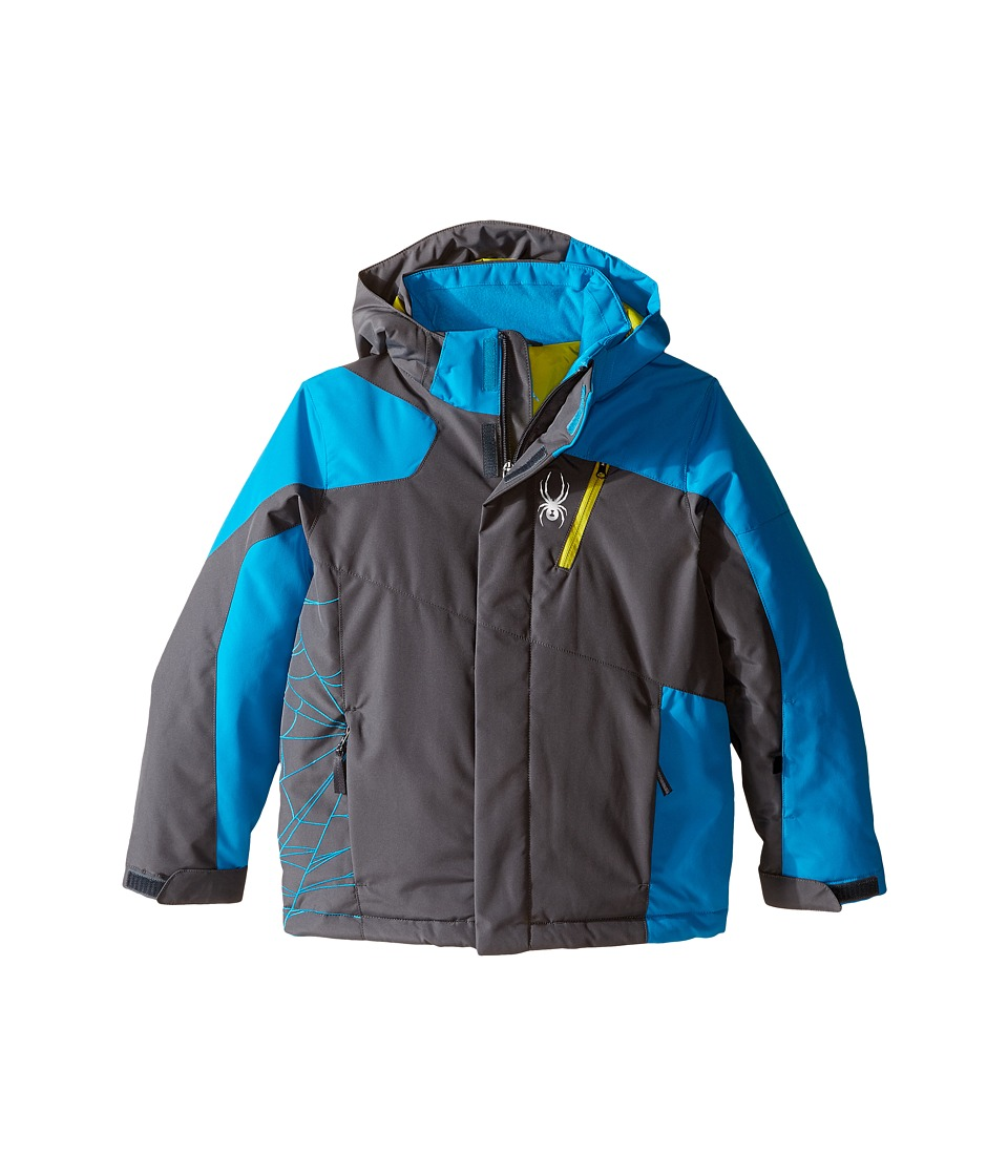 Spyder Kids - Guard Jacket (Big Kids) (Polar/Electric Blue/Sulfur) Boy's Coat