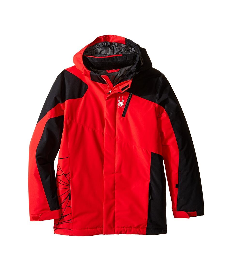 Spyder Kids - Guard Jacket (Big Kids) (Red/Black/Polar) Boy's Coat