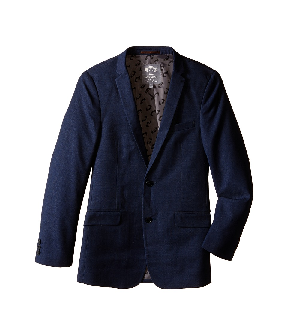 Appaman Kids - Classic Tailored Jacket with Appaman Logo Lining (Toddler/Little Kids/Big Kids) (Indigo) Boy's Coat