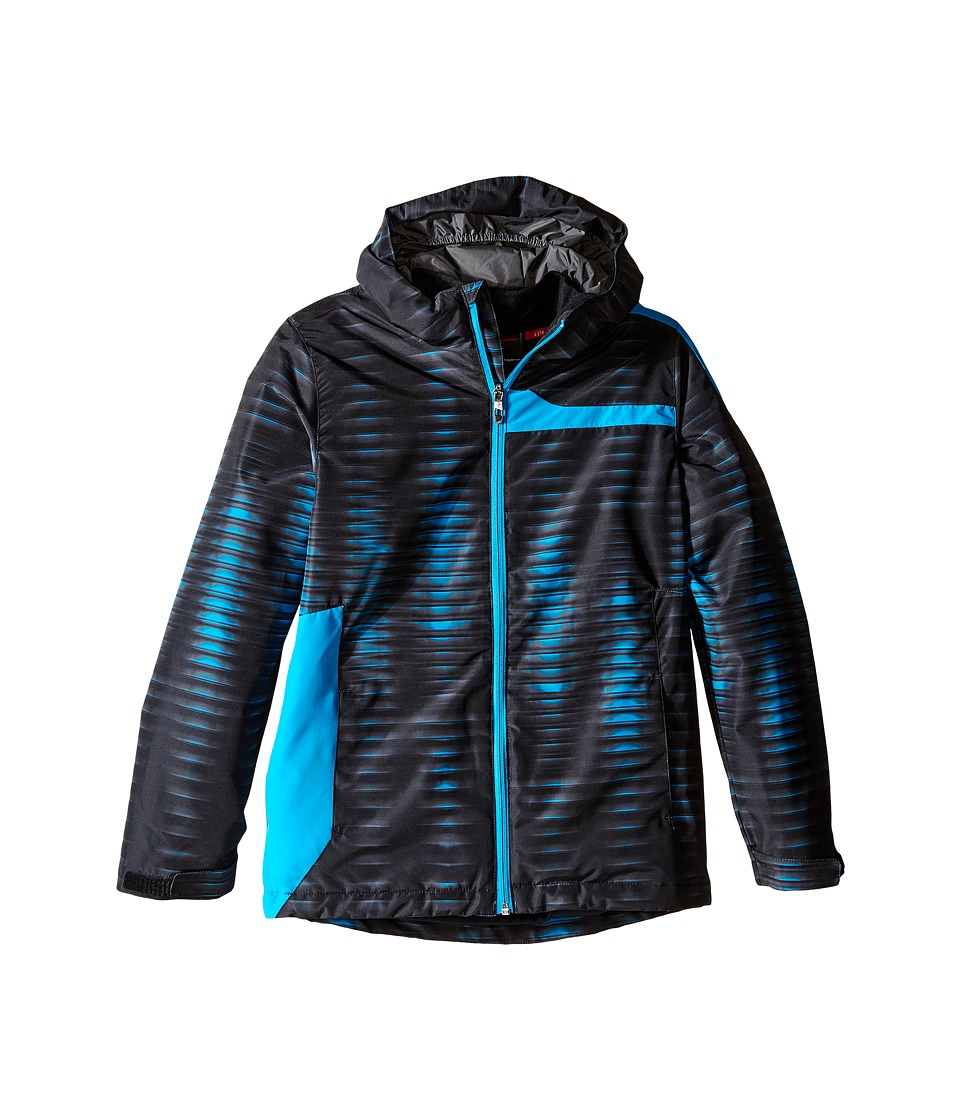 Spyder Kids - Reckon 3-in-1 Jacket (Big Kids) (Space Armor Electric Blue/Polar) Boy's Coat
