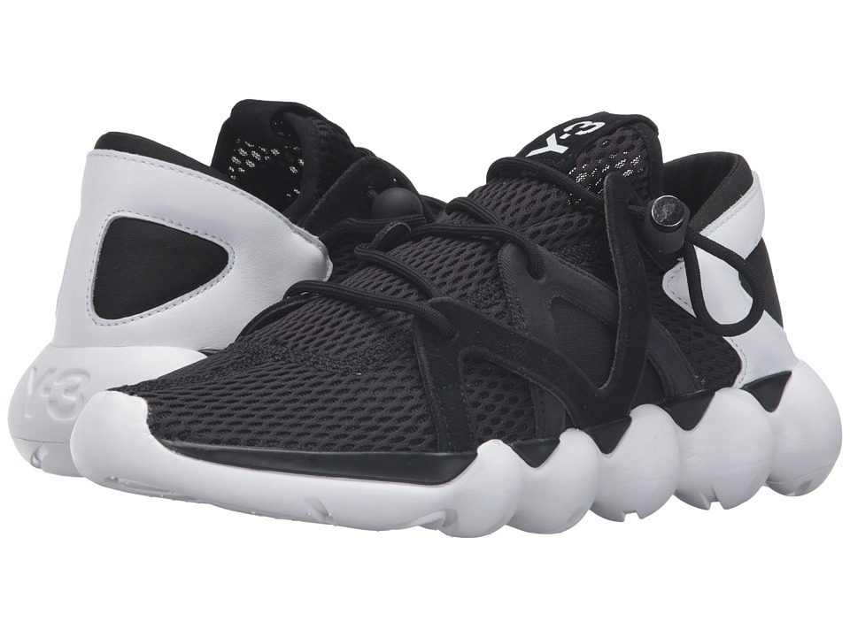 adidas Y-3 by Yohji Yamamoto - Kyujo Low (Core Black/Core Black/White) Men's Shoes