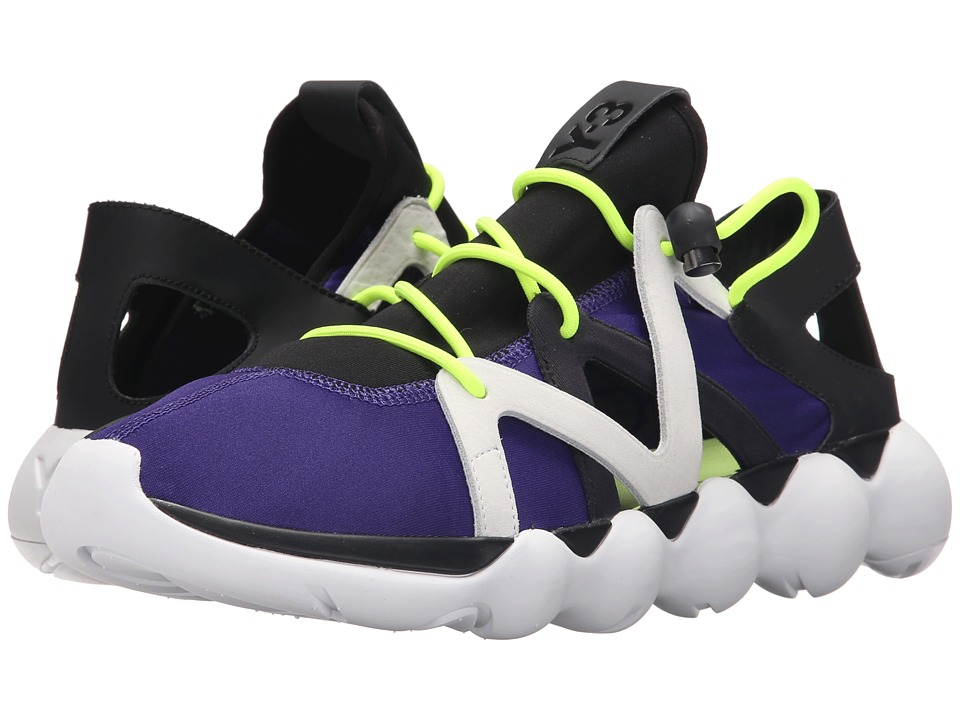 adidas Y-3 by Yohji Yamamoto - Kyujo Low (Collegiate Purple/Core Black/White) Men's Shoes