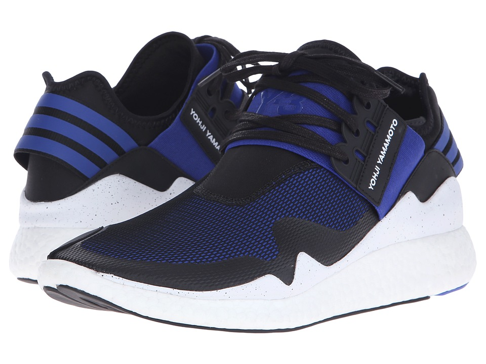 adidas Y-3 by Yohji Yamamoto - Retro Boost (Electric Blue/Core Black/White) Men's Shoes