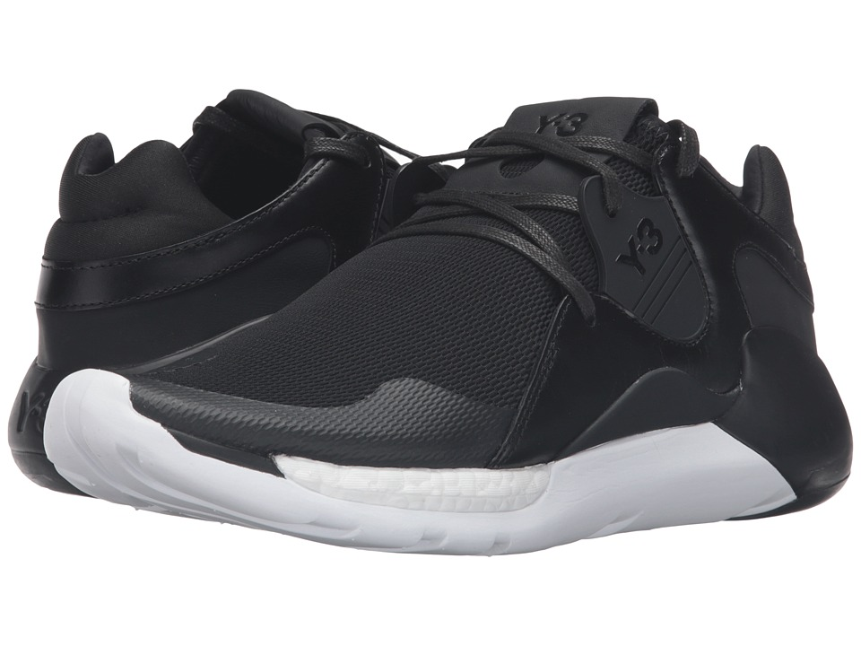 adidas Y-3 by Yohji Yamamoto - QR Run (Core Black/Core Black/White) Men's Shoes