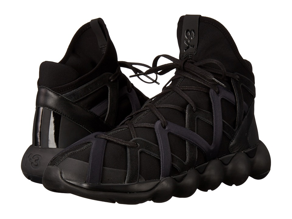 adidas Y-3 by Yohji Yamamoto - Kyujo High (Core Black/Core Black/Core Black) Men's Shoes