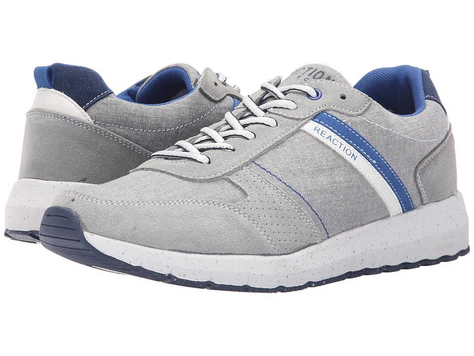 Kenneth Cole Reaction - High Roller (Light Grey) Men's Lace up casual Shoes