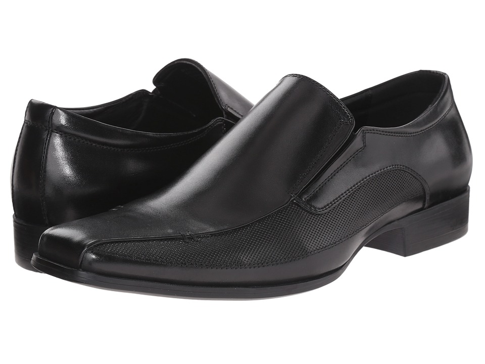Kenneth Cole Reaction - Rave Review (Black) Men's Slip on Shoes