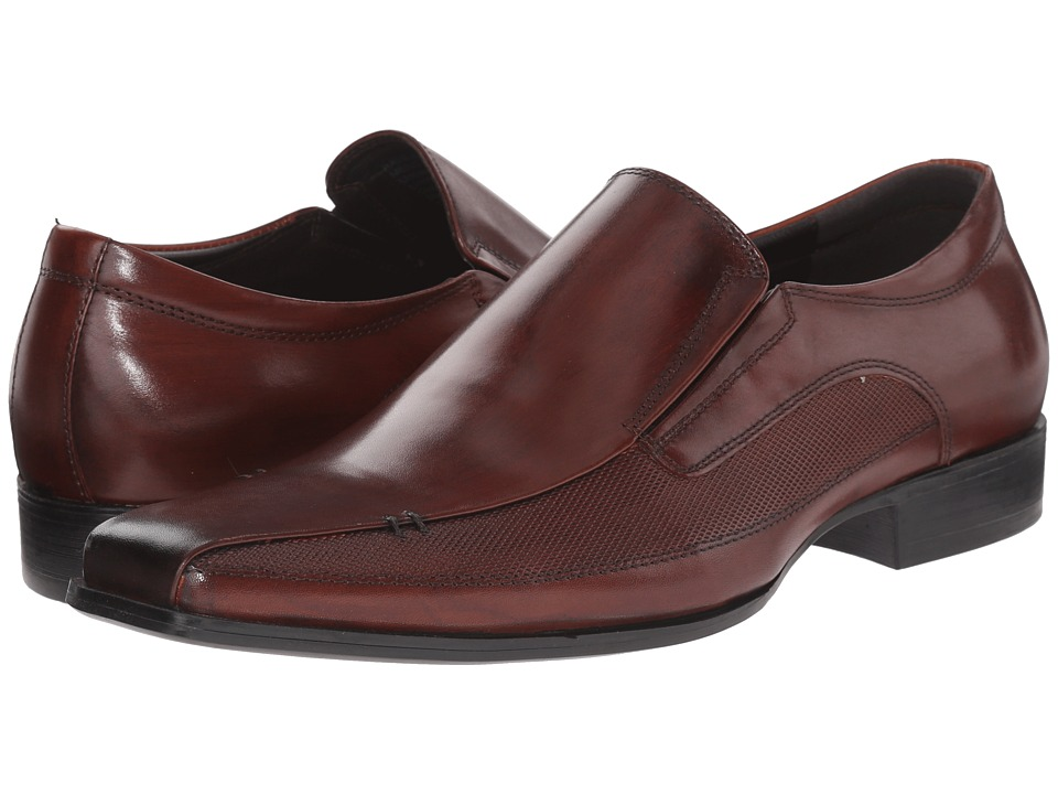 Kenneth Cole Reaction - Rave Review (Cognac) Men's Slip on Shoes