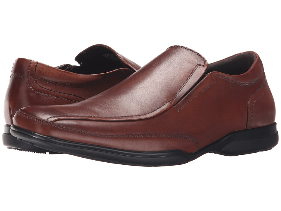 Kenneth Cole Reaction - Rem-Arkable (Cognac) Men's Slip on Shoes