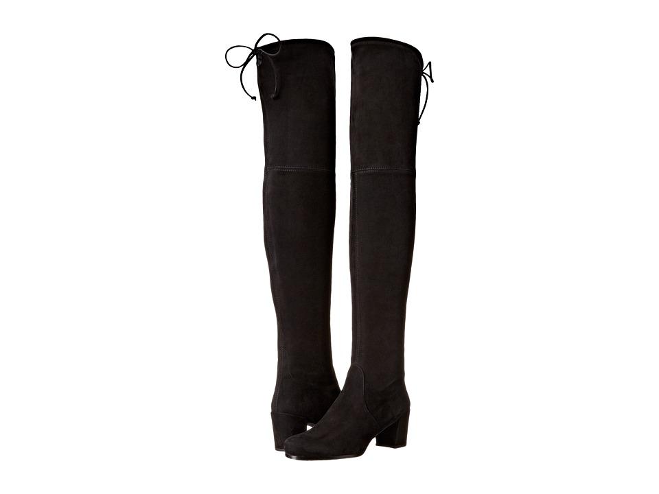 Stuart Weitzman - Hinterland (Black Suede) Women's Boots