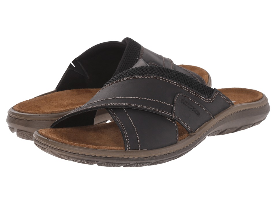 Kenneth Cole Reaction - Cur-Few (Black) Men's Sandals