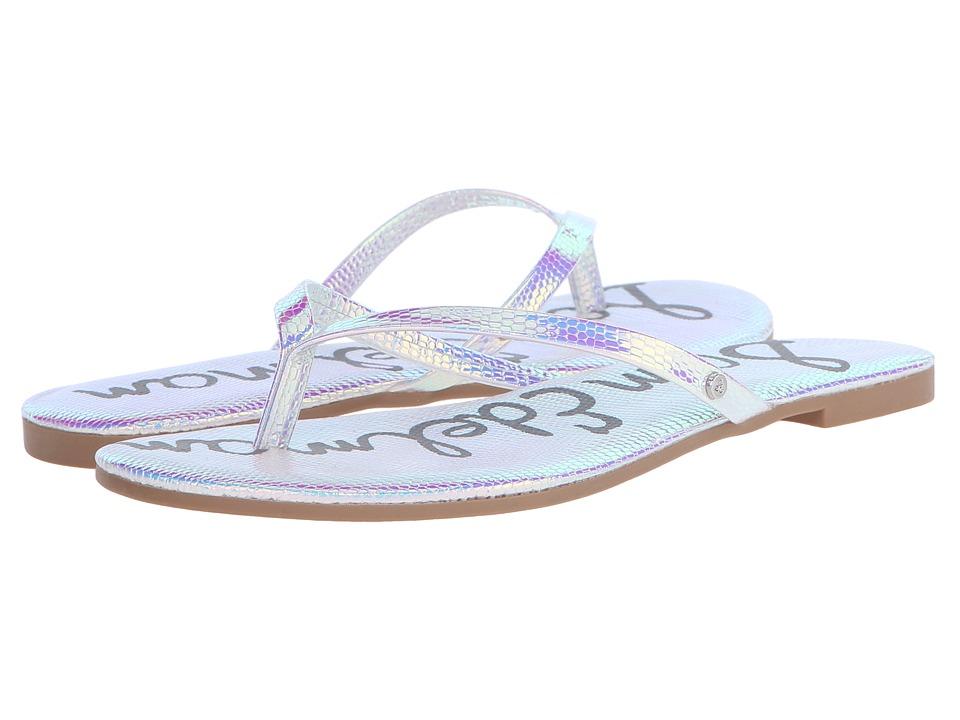 Sam Edelman - Oliver (Iridescence Iridescent Lizard) Women's Sandals