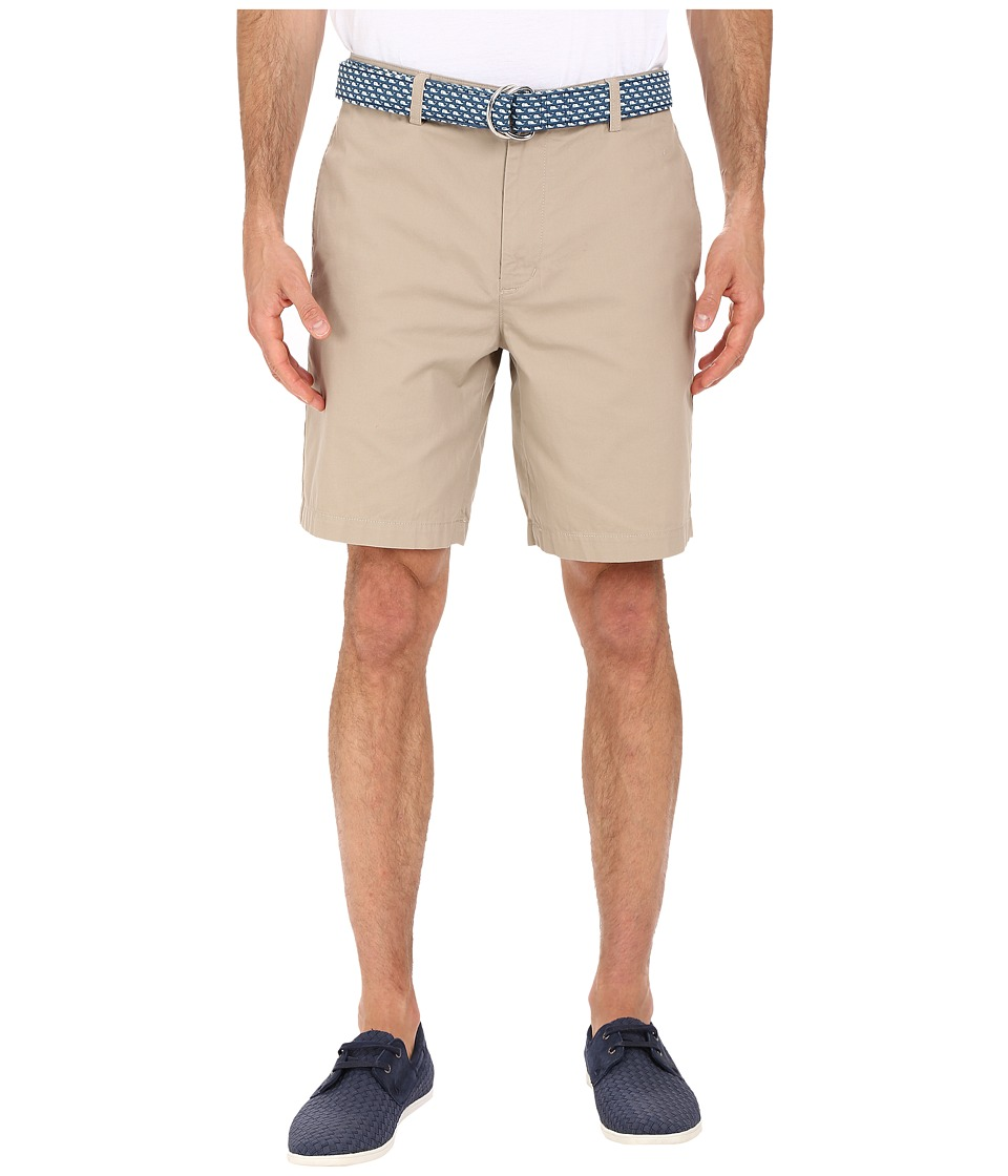 Vineyard Vines - 9 Classic Summer Club Shorts (Khaki) Men's Shorts