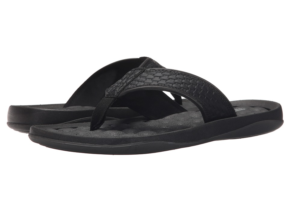 Kenneth Cole Reaction - Go Four-Th (Black) Men's Sandals