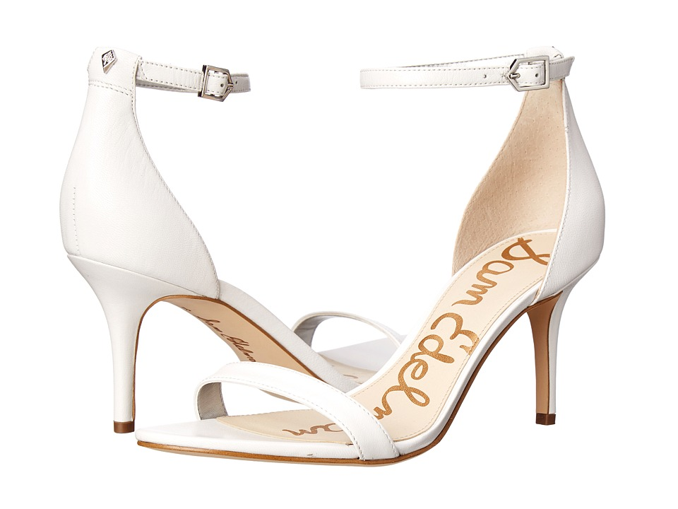 Sam Edelman - Patti (White Nappa Luva Leather) High Heels