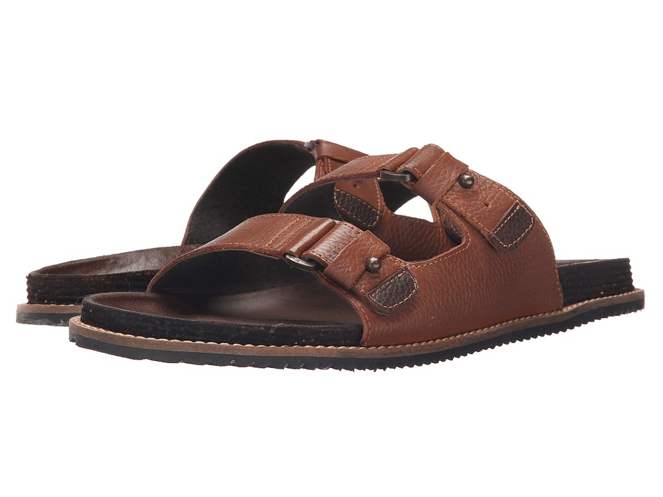 Kenneth Cole Reaction - Leap Year (Cognac) Men's Sandals