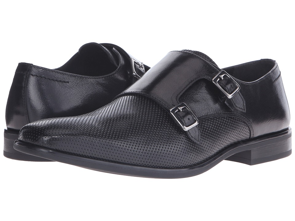 Kenneth Cole Reaction - Recent-Ly (Black) Men's Slip on Shoes