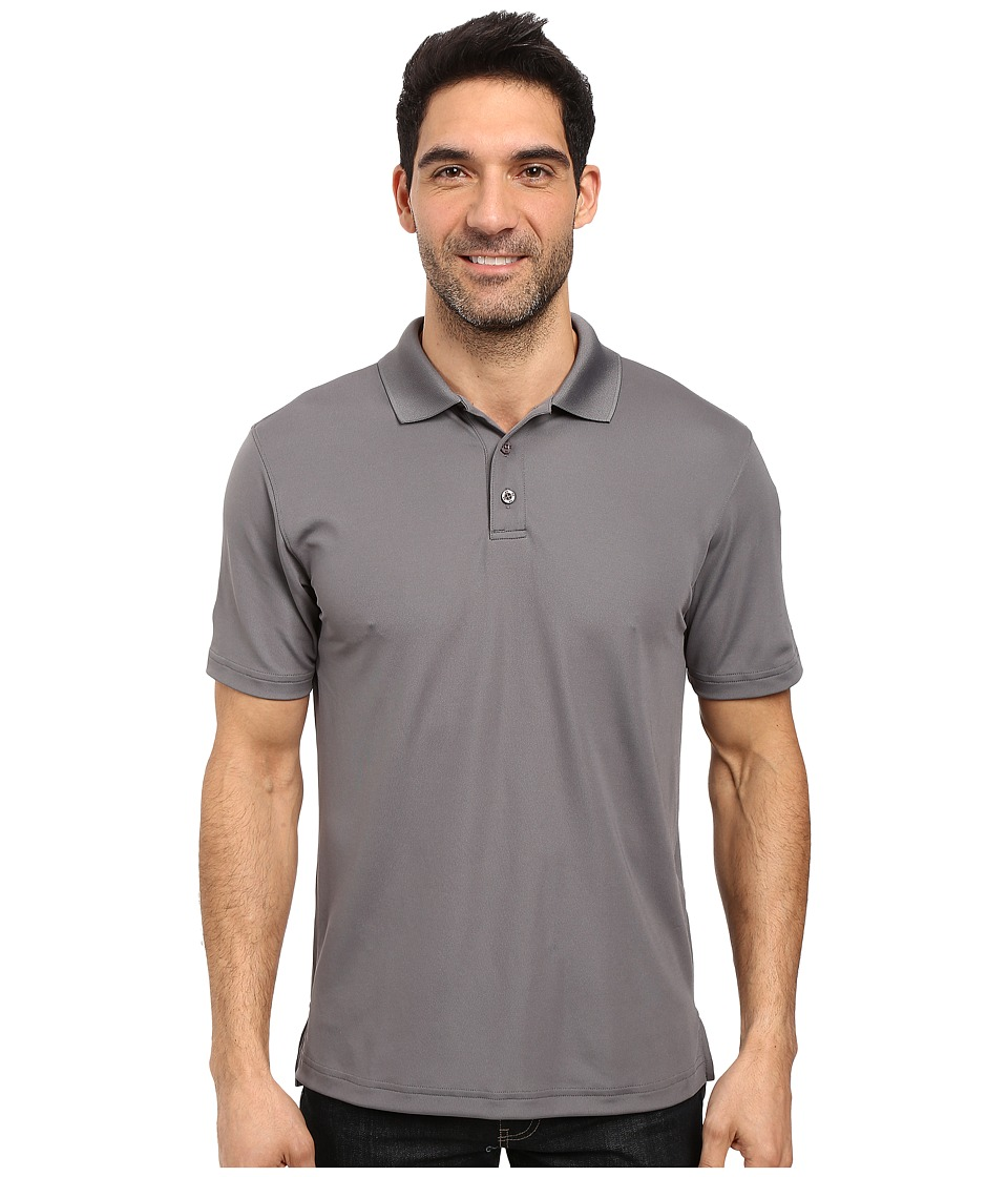 Under Armour - UA Tac Performance Polo (Graphite) Men's Clothing