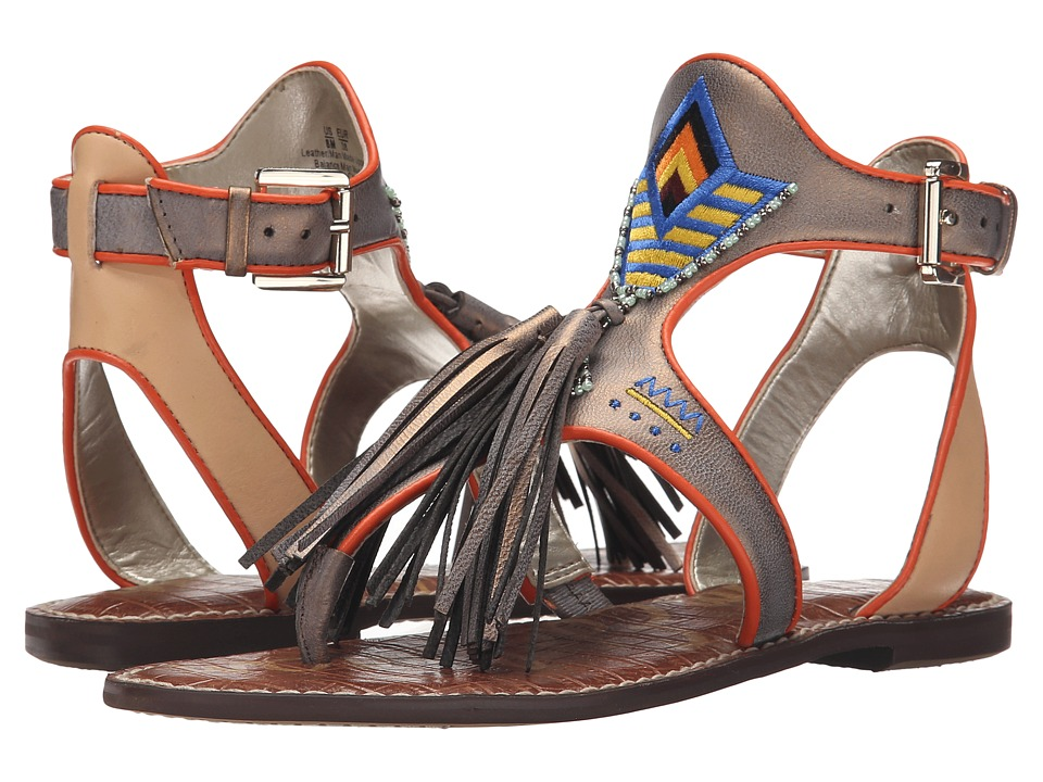 Sam Edelman - Giblin (Jute/Naked Natural Vaquero Saddle Leather) Women's Sandals