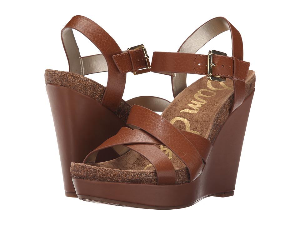 Sam Edelman - Nelson (Saddle New Tumble Leather) Women's Wedge Shoes
