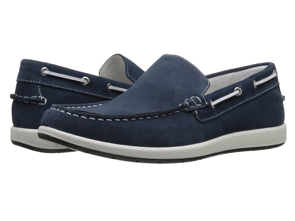 Kenneth Cole Reaction - Snooze U Lose (Navy) Men's Slip on Shoes