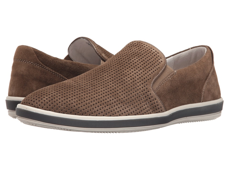 Kenneth Cole Reaction - Take A Stroll (Dark Taupe) Men's Slip on Shoes