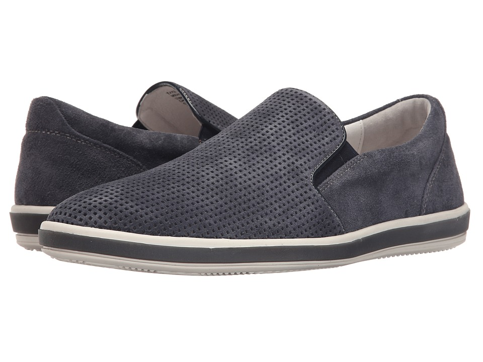 Kenneth Cole Reaction - Take A Stroll (Blue) Men's Slip on Shoes