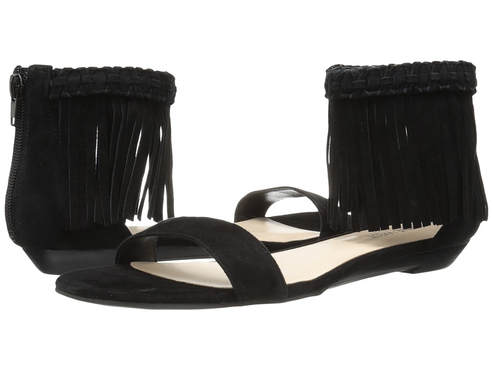 Nine West - Wanderlust (Black Suede) Women's Sandals