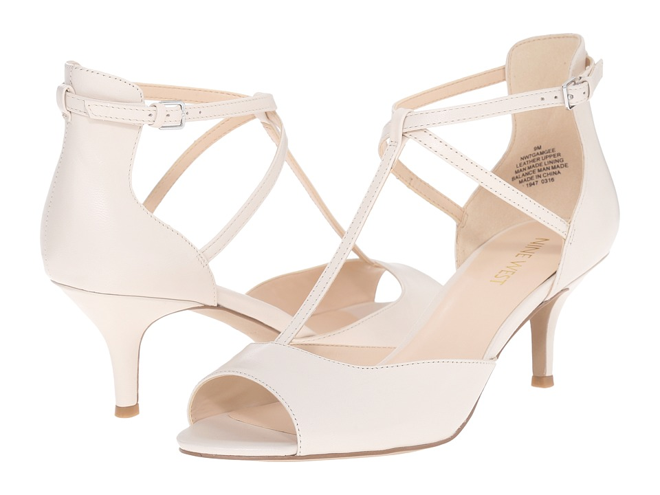 Nine West - Gamgee (Off-White Leather) High Heels
