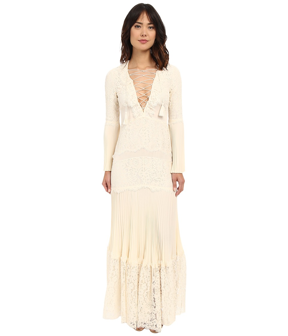Rachel Zoe - Annie Lace Gown (Ecru) Women's Dress