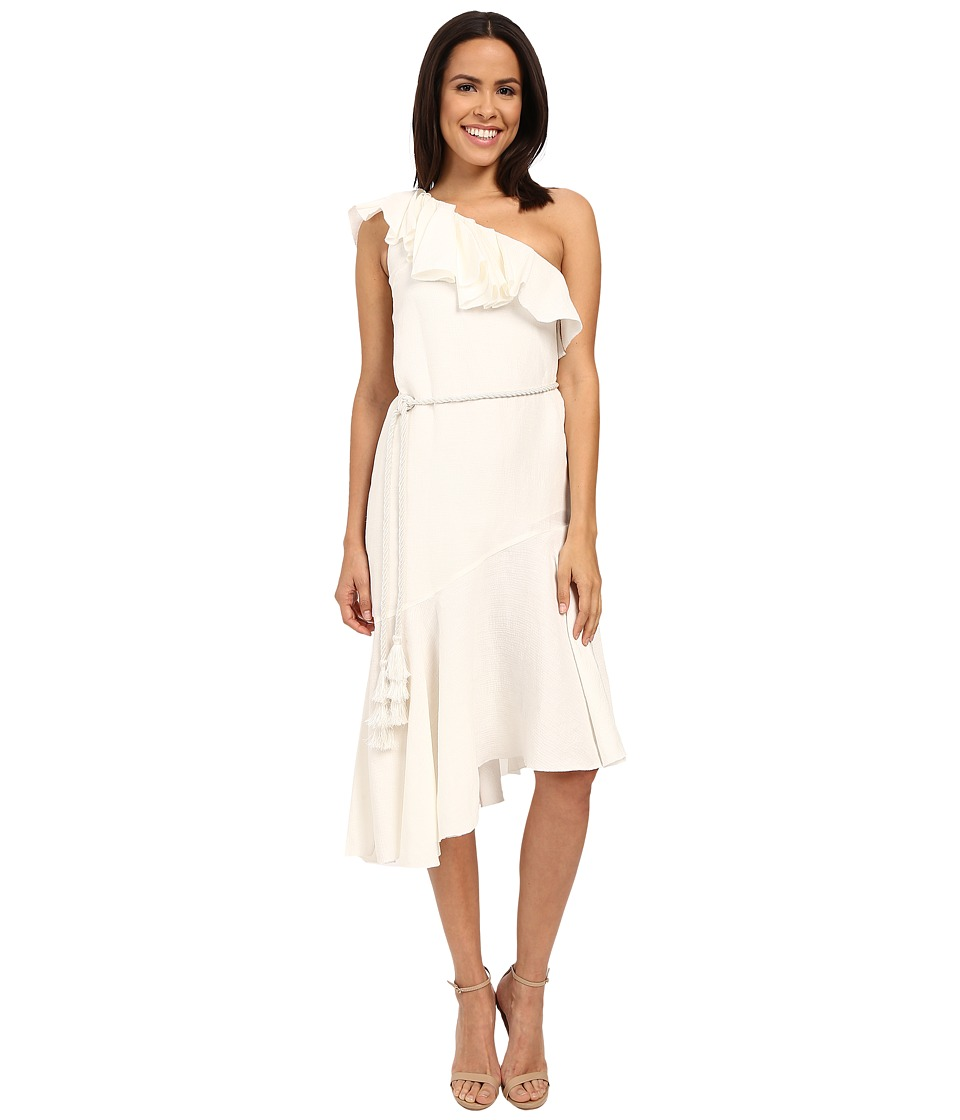 Rachel Zoe Violetta One Shoulder Dress (Ecru) Women