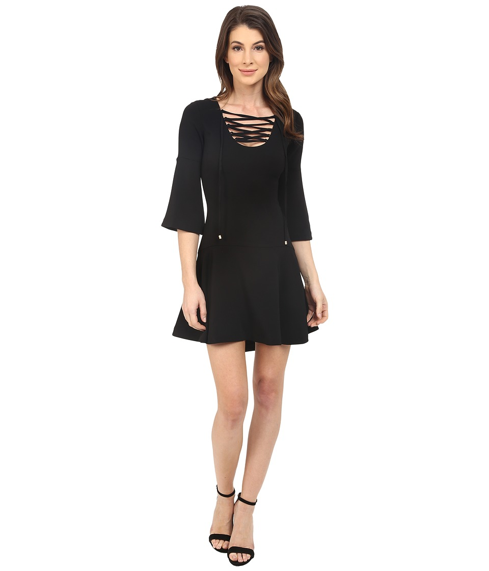 Rachel Zoe Marnie Dress (Black) Women