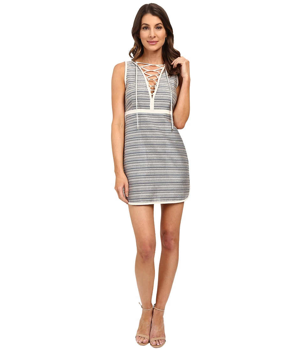 Rachel Zoe - Amalia Sleeveless Dress (Blue Stripe) Women's Dress