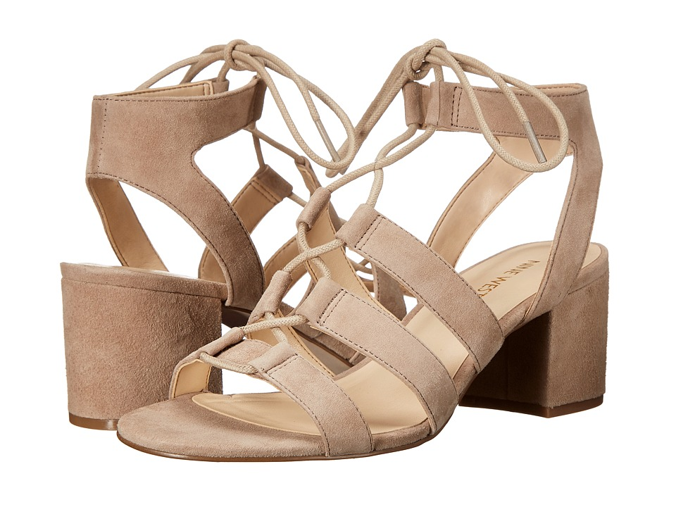 Nine West - Gazania (Natural Suede) High Heels