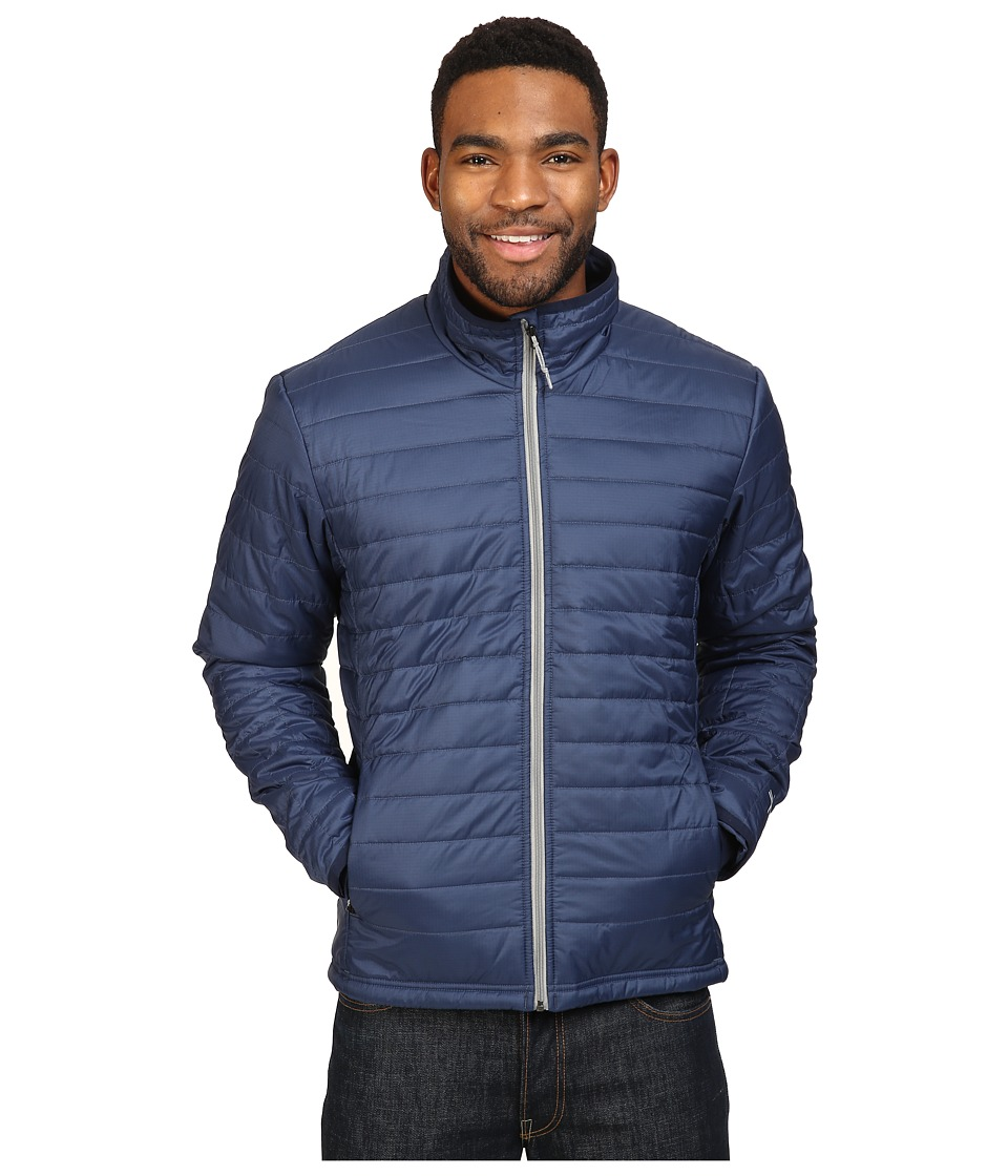 Icebreaker - Stratus Long Sleeve Zip (Admiral/Admiral/Fossil) Men's Coat