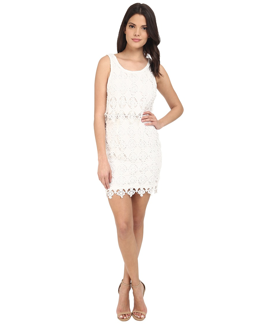Brigitte Bailey - Pheobe Lace Mini Dress (Off-White) Women's Dress