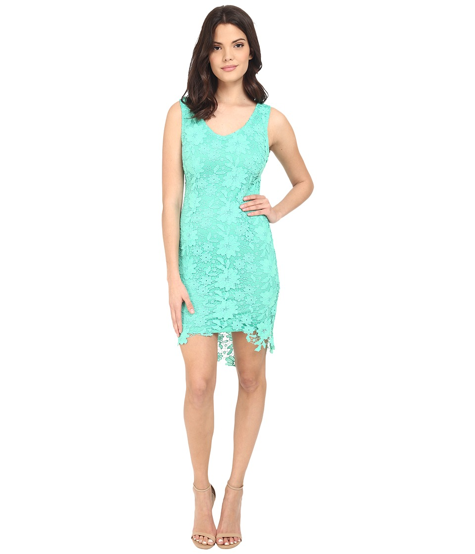 Brigitte Bailey - Poppy Lace Midi Dress (Emerald Green) Women's Dress