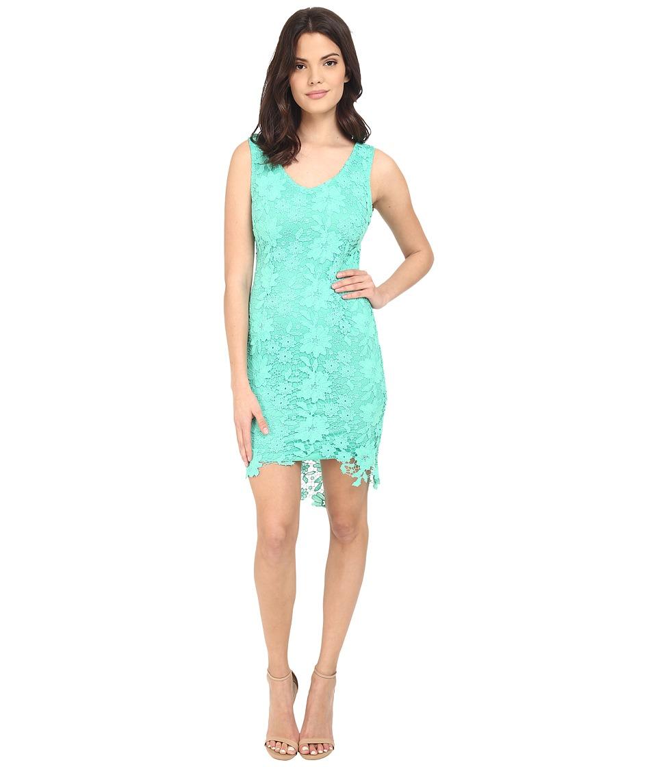 Brigitte Bailey - Poppy Lace Midi Dress (Emerald Green) Women's Dress