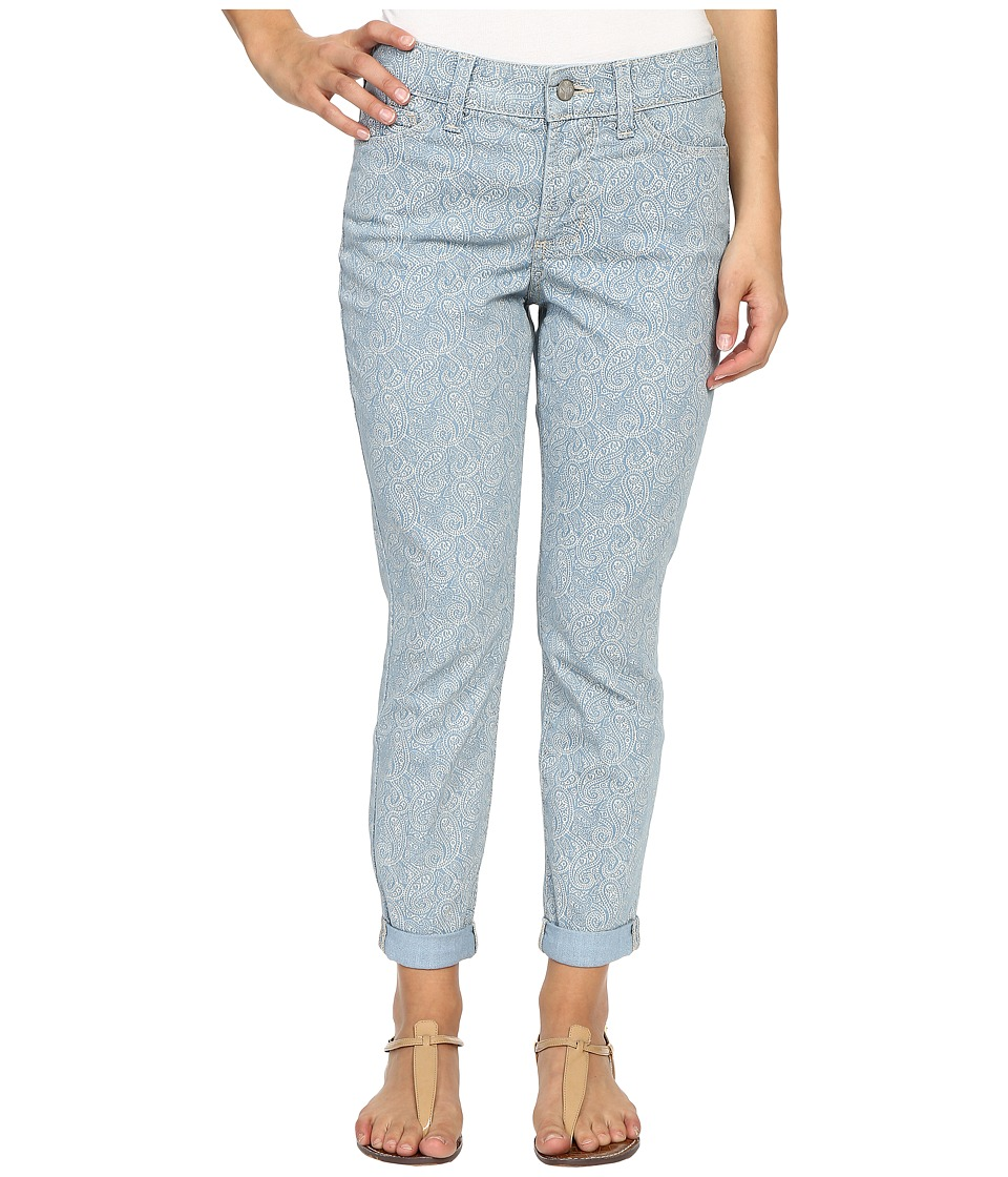 NYDJ Petite - Petite Rachel Rolled Cuff Ankle in Heirloom Paisley (Heirloom Paisley) Women's Jeans