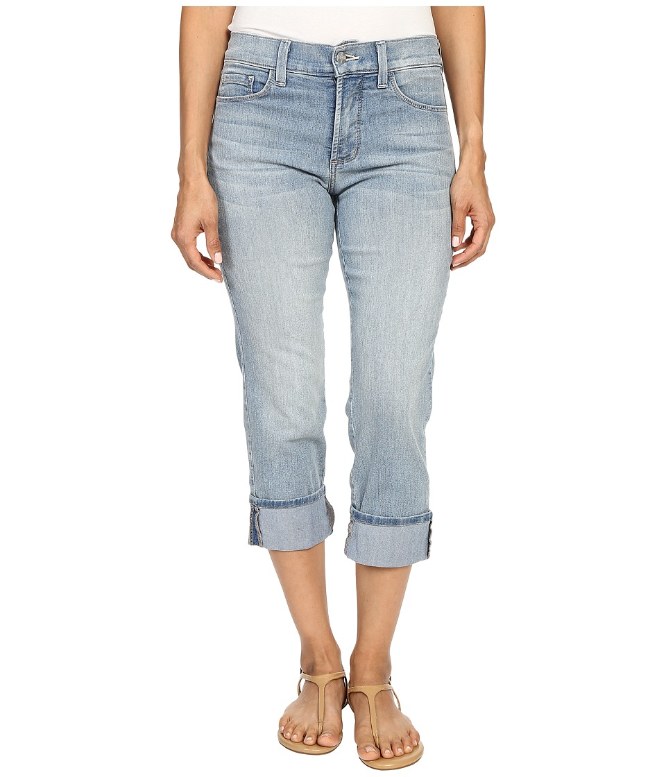 NYDJ Petite - Petite Dayla Wide Cuff Capris in Manhattan Beach (Manhattan Beach) Women's Jeans