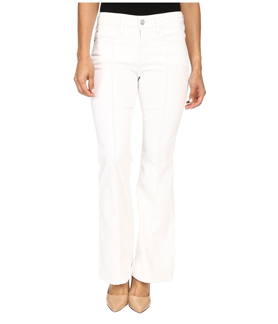 NYDJ Petite - Petite Farrah Flare in Spotless White (Spotless White) Women's Jeans