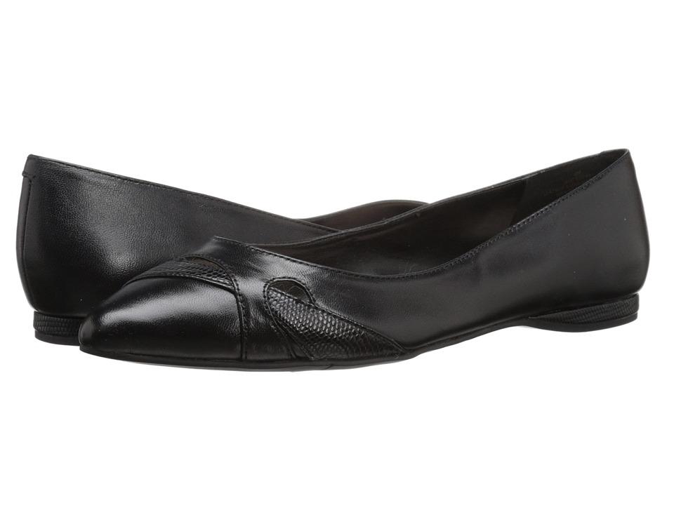 Nine West Seeya (Black/Black Leather) Women