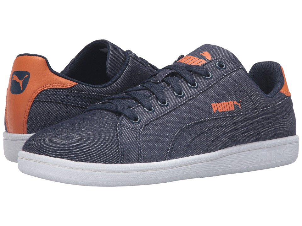 PUMA - Smash - Denim (Blue 1) Men's Shoes
