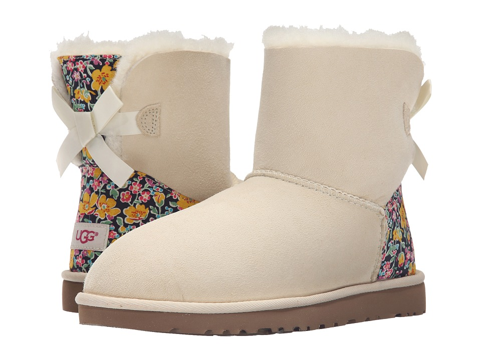 UGG - Mini Bailey Bow Liberty (Antique White) Women's Shoes