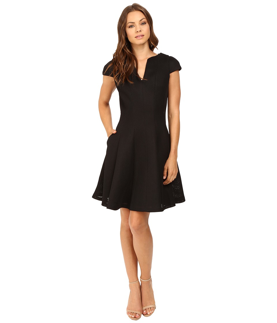 Christin Michaels Normandie Dress (Black) Women