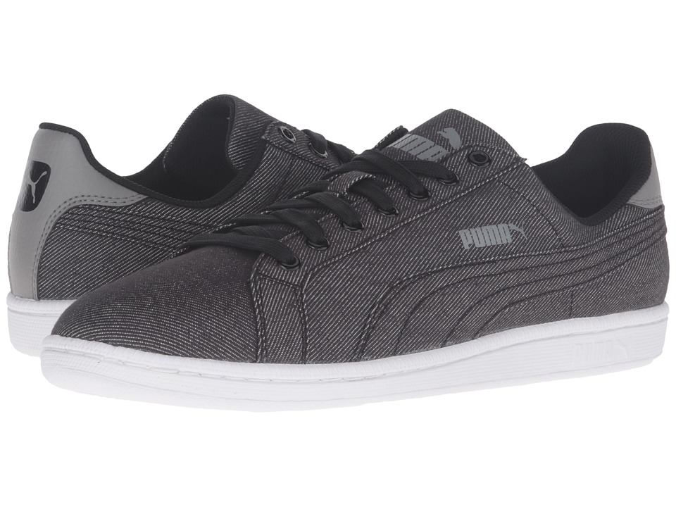 PUMA - Smash - Denim (Black 1) Men's Shoes