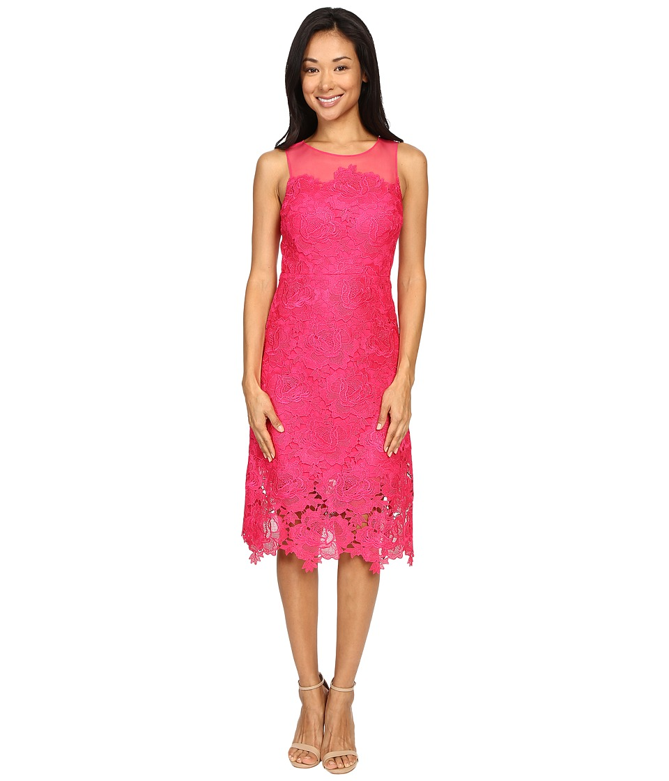 rsvp - Alsace Lace Dress (Fuchsia) Women's Dress