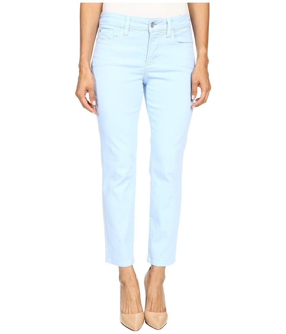 NYDJ Petite - Petite Clarissa Ankle in Bella Blue (Bella Blue) Women's Casual Pants plus size,  plus size fashion plus size appare