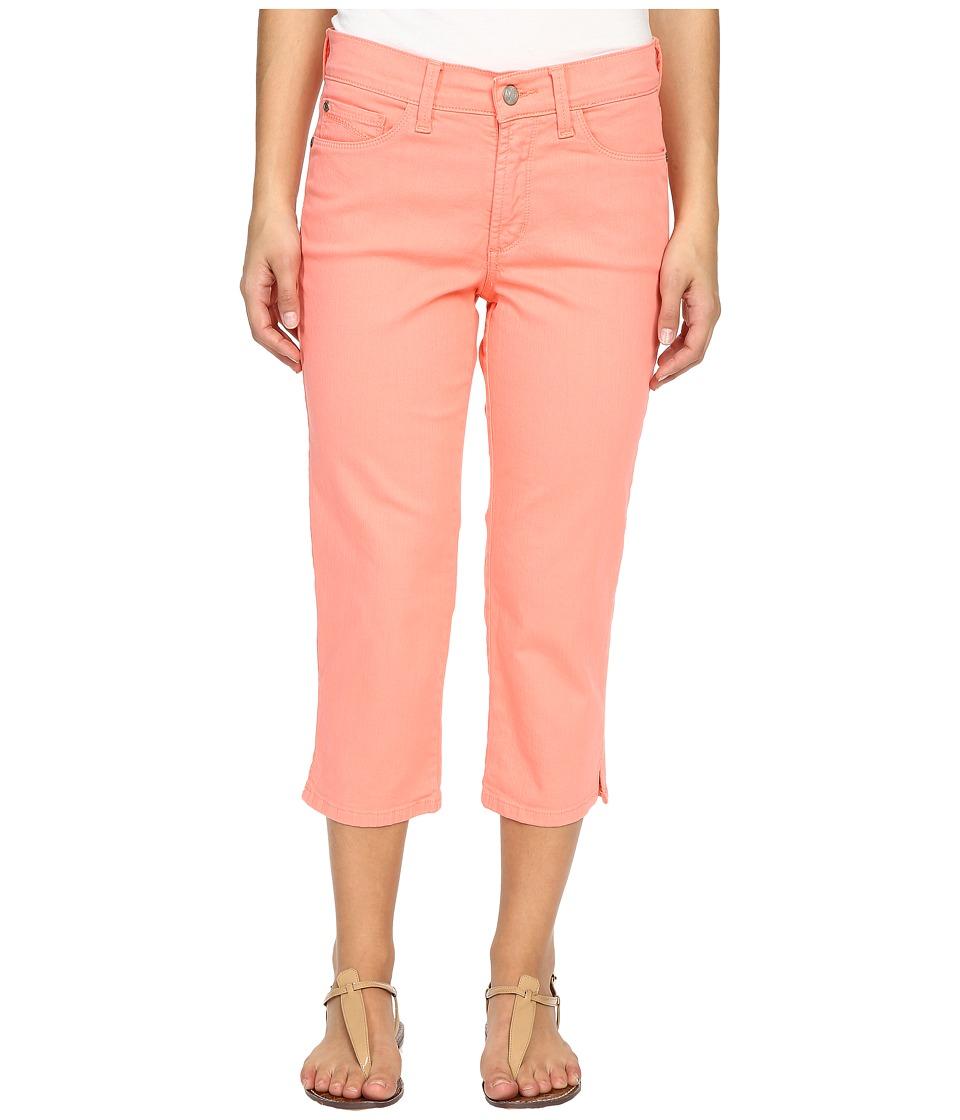 NYDJ Petite - Petite Ariel Crop in Pale Guava (Pale Guava) Women's Jeans